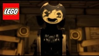 How To Build: LEGO Sammy Lawrence | Bendy and the Ink Machine - Stop Motion