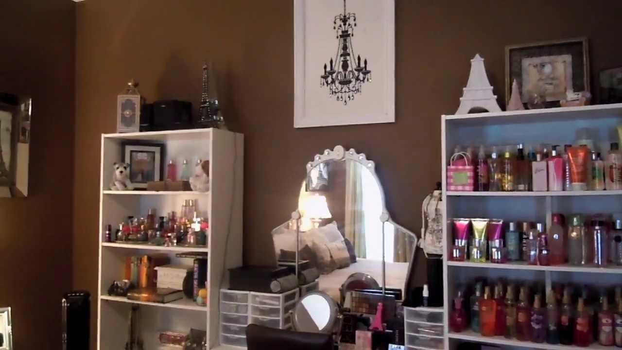 Body Care & Perfume Storage - YouTube