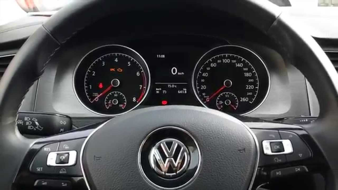 Golf 7 1 2 Tsi 2014 Review Walkaraound Sound Rev Youtube