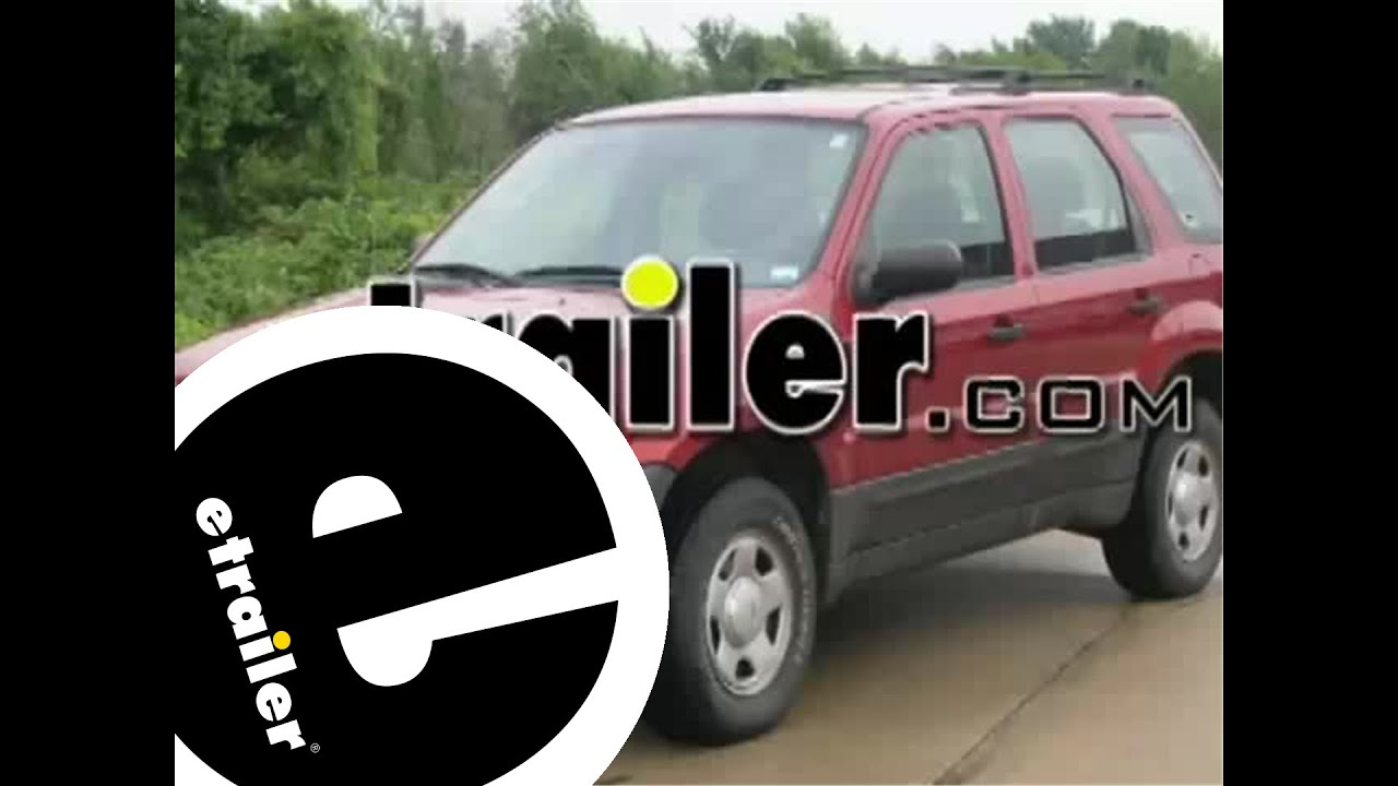 hight resolution of trailer wiring harness installation 2003 ford escape etrailer com