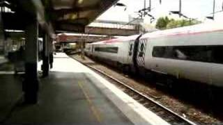 Virgin Trains Pendolino at Northampton Station