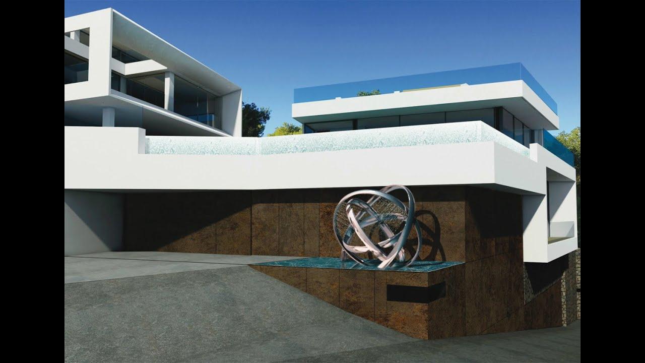 Luxury property with 270 ° views of the sea and the marina of Santa Eulalia - Luxury Villas Ibiza