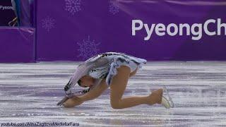 Alina Zagitova Olympic 2018 SP Black Swan Practice E