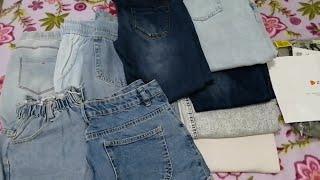 Моя коллекция джинсов примерка Новый заказ на сайте Zalando распаковка джинсов pull bear