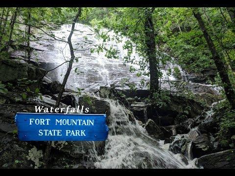 Fort Mountain Waterfalls After Heavy Rains | North Georgia Waterfalls