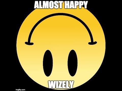 Wizely - Almost Happy (Lyric Video) prod. Kmupp