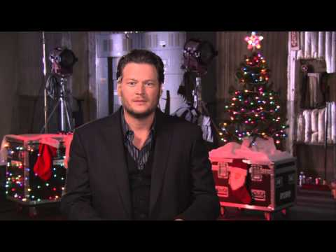 Blake Shelton's 'Not So Family Christmas' Interview - Celebs.com