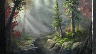 Paint with Kevin Hill - Deep Forest Riverbed