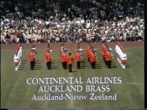 Continental Airlines Auckland Brass - WMC Kerkrade 1981