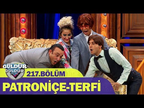 Güldür Güldür Show 217.Bölüm   Patroniçe-Terfi