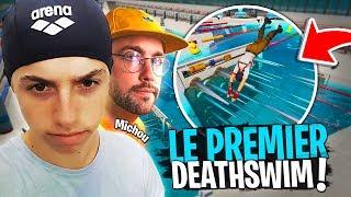 Deathswim, le premier Deathrun dans l'eau avec Michou et Dobby sur Fortnite Créatif !