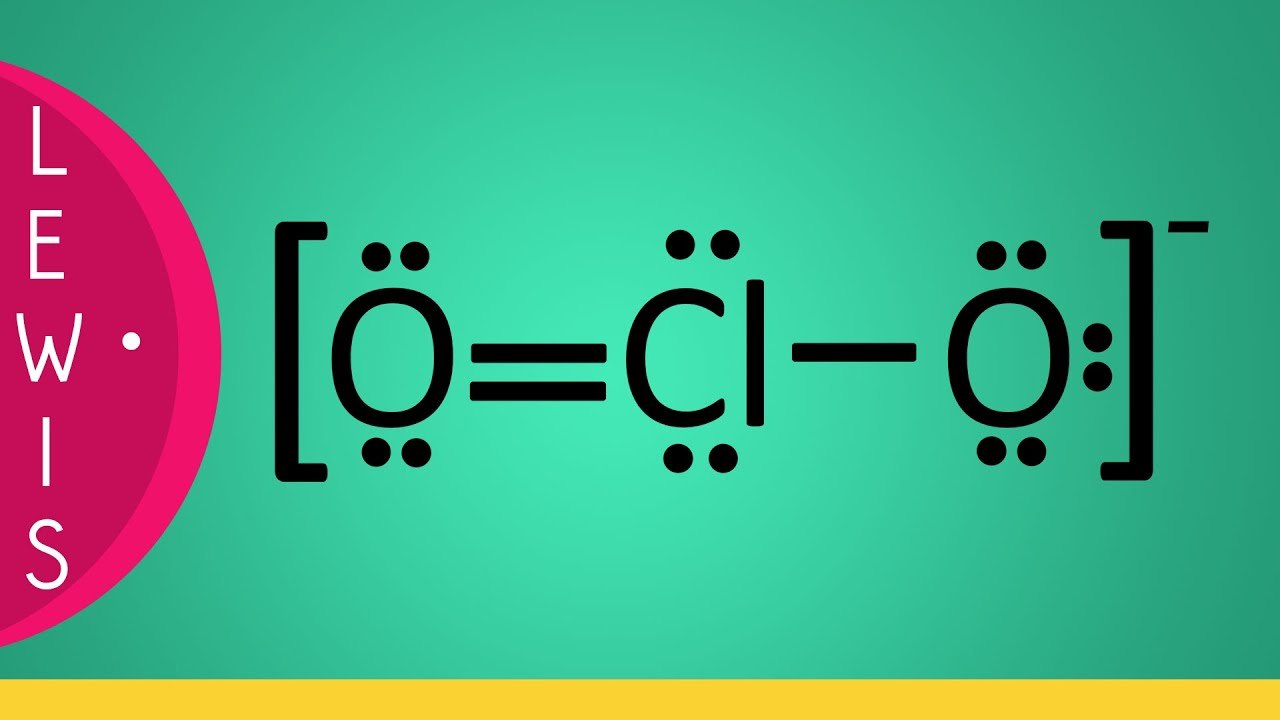 Lewis Structure of ClO3- (Chlorate ion)  |Clo Lewis Structure