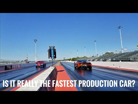 The Drag Race That Shook The Mopar World : Mclaren 720s vs Dodge Demon