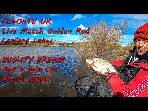 FishOnTV : Live Match Fishing Golden Rod Qualifier : Larford Lakes : March 2020