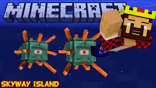 ГРОЗНЫЕ СТРАЖИ - Minecraft Skyway Island Survival 07