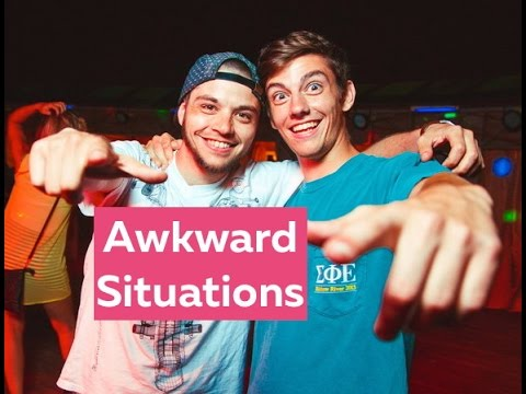 Awkward Situations - Learn English online free video lessons