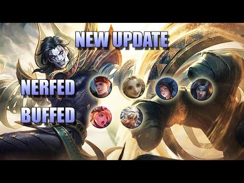 NEW UPDATE - NERFED HARITH, KIMMY AND ALDOUS 🙀 MOBILE LEGENDS PATCH NOTES