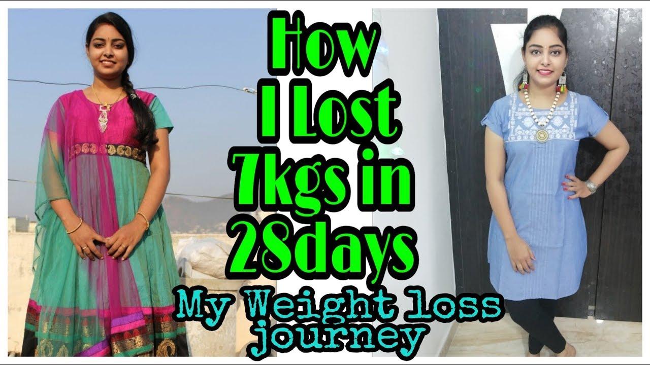 28days లో 7kgs తగడం ఎలాగో తెలుసుకోండి||Weight loss tips in telugu||MY WEIGHT LOSS JOURNEY