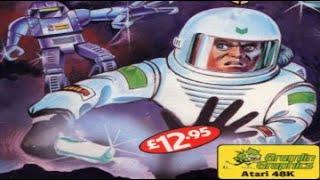 Atari 800 Game - Zone X