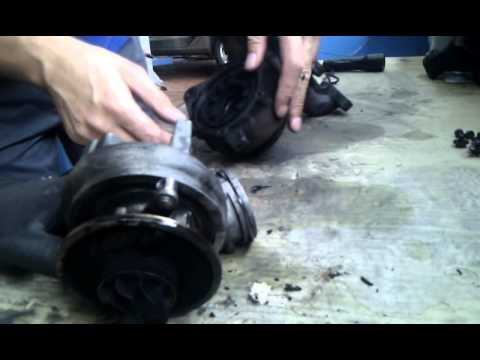 gutachten turbolader vw touran youtube