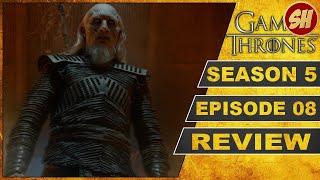 GAME OF THRONES Season 5 Episode 8 HARDHOME - HARTHEIM REVIEW DEUTSCH GERMAN
