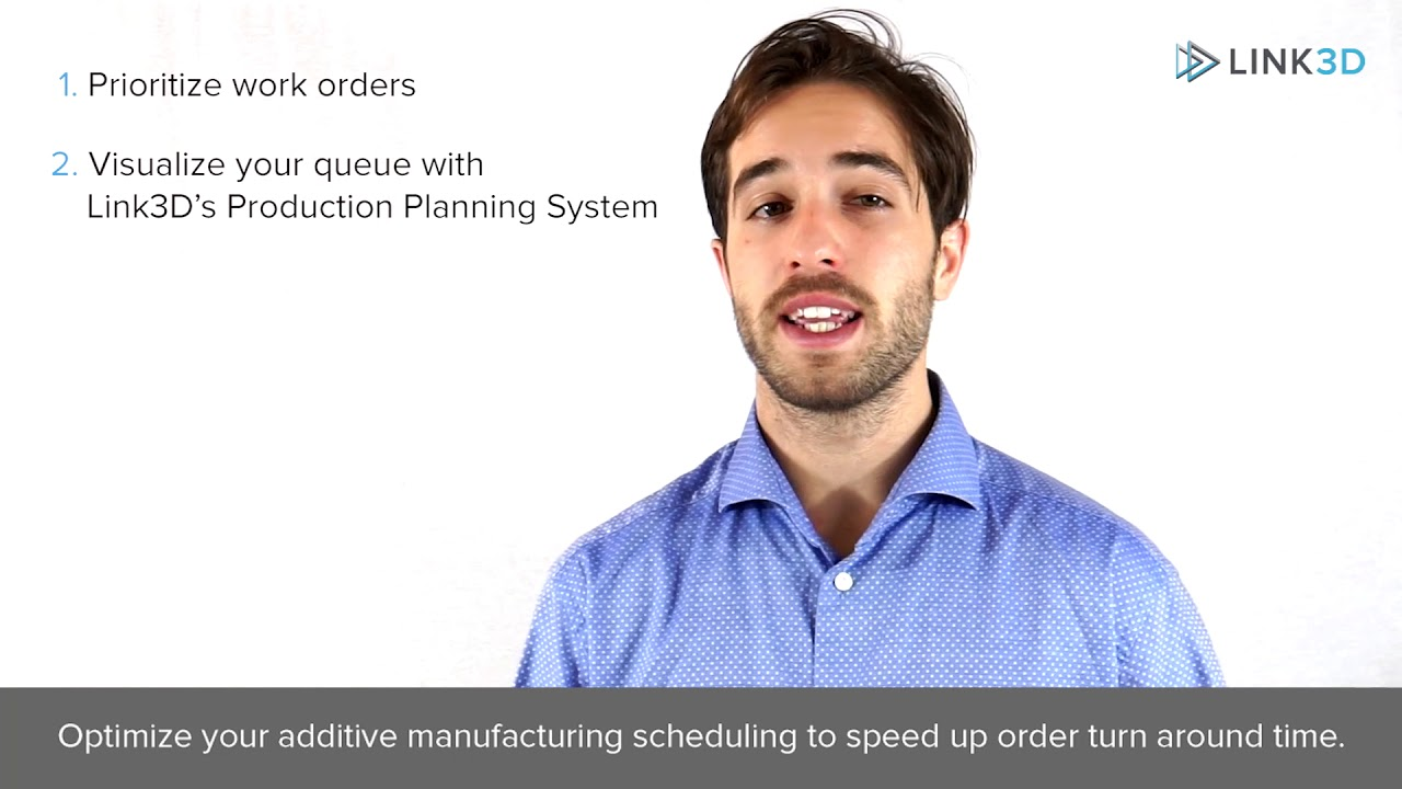 Optimize Your Additive Manufacturing Scheduling Strategy