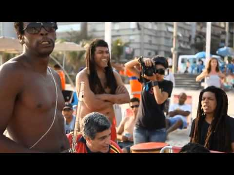 Cotidiano   Episódio 3   Seu Jorge e Farofa Carioca @ Praia de Ipanema   YouTube