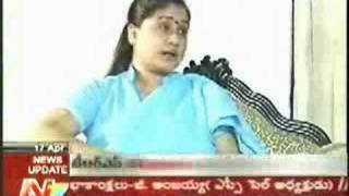 Mega star stamina commented by Vijayashanthi.