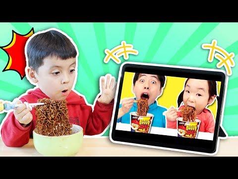 Mie Pororo Hitam - MaShu Toys Review