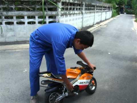 BSRU แนะนำรถมอเตอร์ไซค์ pocket bike!