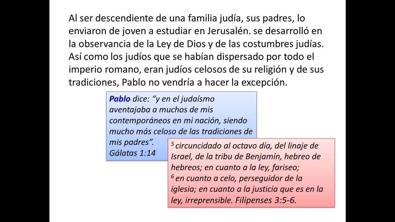 Pablo Quien Fue El Apostol Pablo Su Principio Youtube