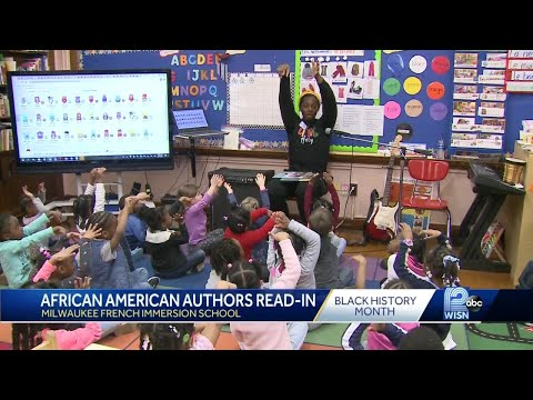 Milwaukee French Immersion School hosts African American author read-in