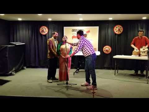 2018 Assam Association Vancouver - song by Kalpana and Durga Mohan Baishya
