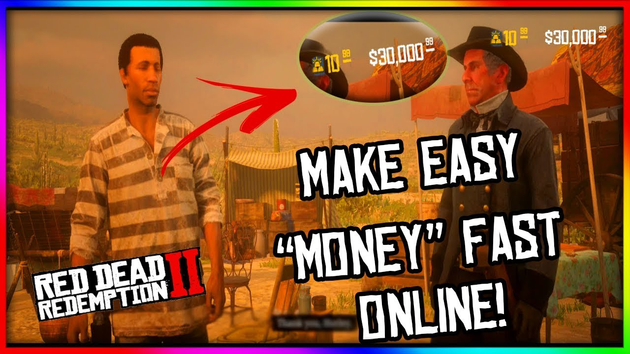 fastest way to make money rdr2 online make fast easy money on red dead 2 online fastest way to 2504