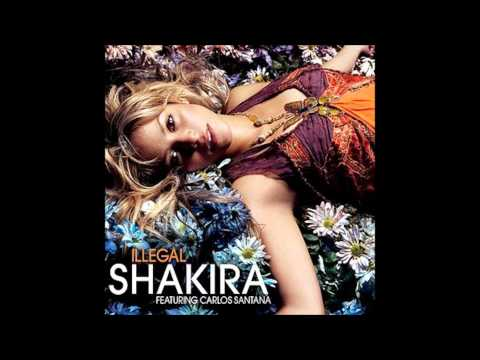 Shakira - Illegal Karaoke / Instrumental with backing vocals and lyrics