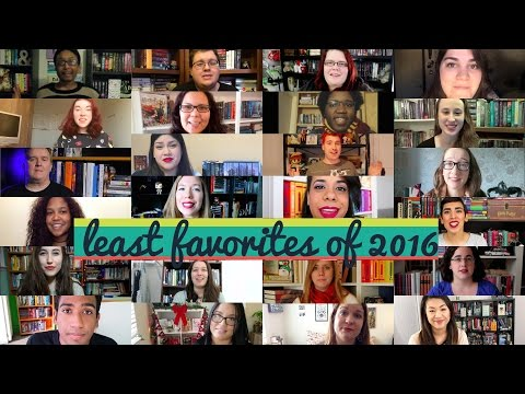 least favorite reads of 2016 (collab)