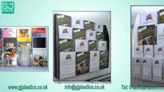 Leaflet Holder, Brochure Holders, Leaflet Dispensers and Leaflet Displays