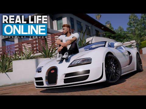 107er UNTERWEGS IM BUGATTI! - GTA 5 Real Life Online