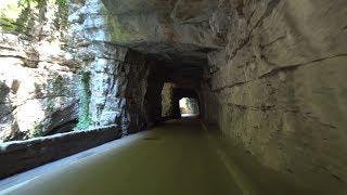 4K Video Brasa Canyon Lake Garda Italy spectacular Cycling Workout Ultrahd