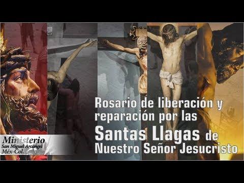 Rosario de liberación y reparación por las santas llagas de nuestro señor Jesucristo