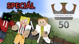 Jirka, GEJMR a Marwex Hraje - Minecraft Mini hry 50 - SPECIÁL