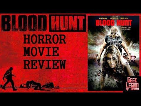 BLOOD HUNT ( 2017 Dean Kirkright ) Rape Revenge Horror Movie Review