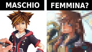 SORA di Kingdom Hearts è UNA FEMMINA? - RichardHTT