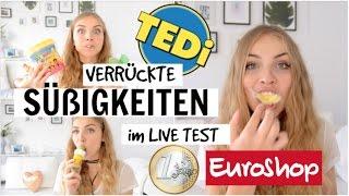 VERRÜCKTE SÜßIGKEITEN IM LIVE TEST | vom EUROSHOP & TEDI