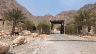 A rocky drive on the mountainous roads of the UAE & Oman. From the border post at Dibba UAE to The Six Senses Resort at Zighy Bay in Musandam, Oman.