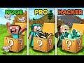 Minecraft NOOB vs PRO vs HACKER : LUCKY BLOCK in minecraft!