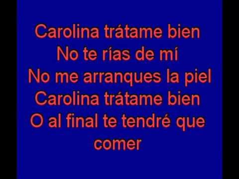 Carolina  -  M Clan -  karaoke   Tony Ginzo