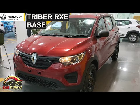 Renault Triber Rxe Base Review Youtube
