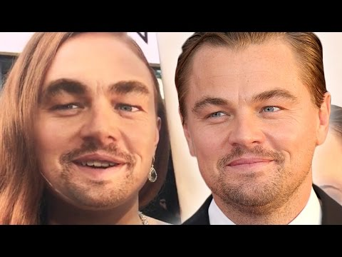 Celebs Face-Swap With Leo At The Oscars