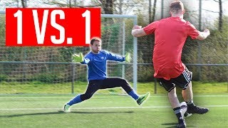 TORWART-TRAINING: 1 GEGEN 1 wie Manuel Neuer
